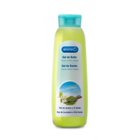Alvita Gel Baño Miel Yogur 750ml