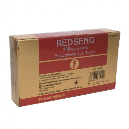 Redseng 300 Mg 50 Caps