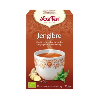 Yogi Tea Jengibre 17 Infusiones