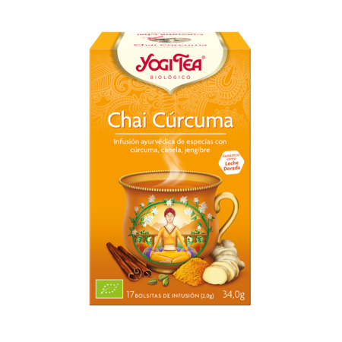 Yogi Tea Chai Cúrcuma 17 Infusiones