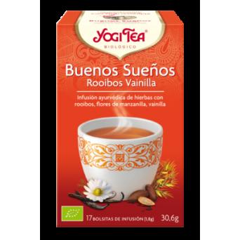 Yogi Tea Buenos Sueños Rooibos Vainilla 17 Infus