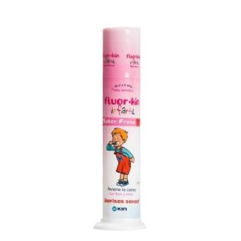 Kin Fluor Infantil Fresa 100ml
