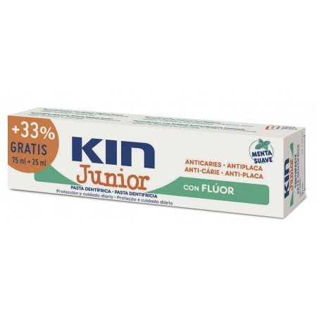 Kin Pasta Junior Suave 75+25ml