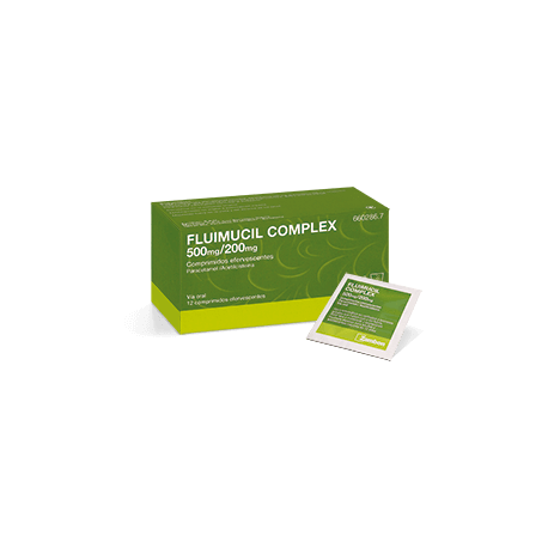 Fluimucil Complex 500/200 12 comp Eferv.