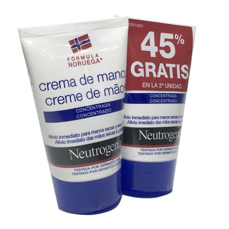 Neutrogena Manos Azul Pack 2 Uds De 50ml