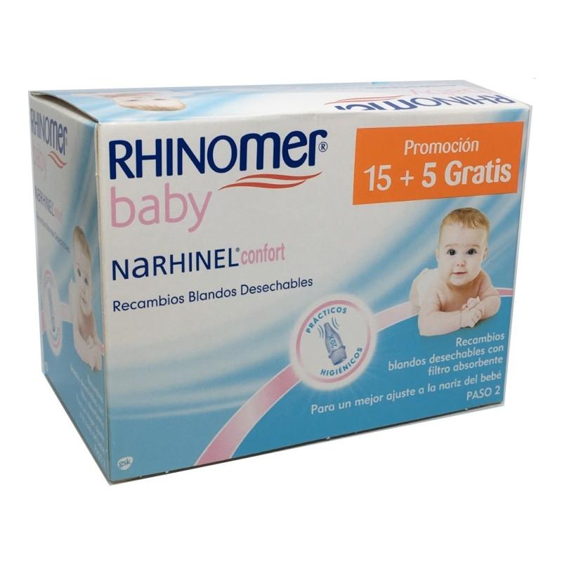 Rhinomer Confort Baby 20 recambios