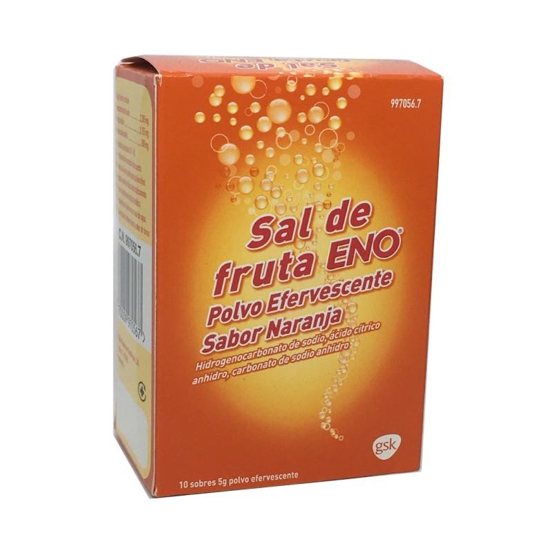 Sal De Fruta Eno Naranja 5 G 10 Sobres Polvo Sol