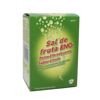 Sal De Fruta Eno Limon 5 G 10 Sobres Polvo Soluc