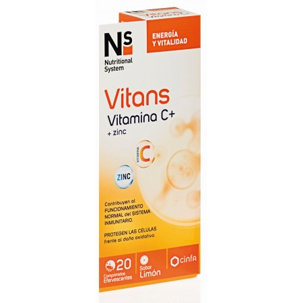Ns Vitans Vitamina C+ 20 Comp Efervescentes