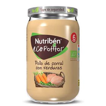 Nutriben Ecopotito Pollo Verduras 235 g