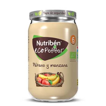 Nutriben Ecopotito Platano Manzana 235 G
