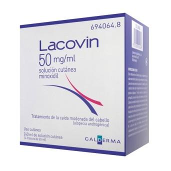 Lacovin 50 Mg/Ml Solucion 4 Frascos 60 Ml