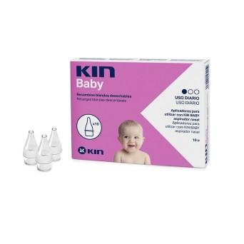 Kin Baby Recambios Aspirador Nasal 10 Uds