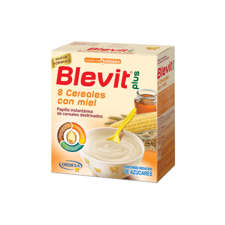 Blevit Plus 8 Cereales Miel 600 mg