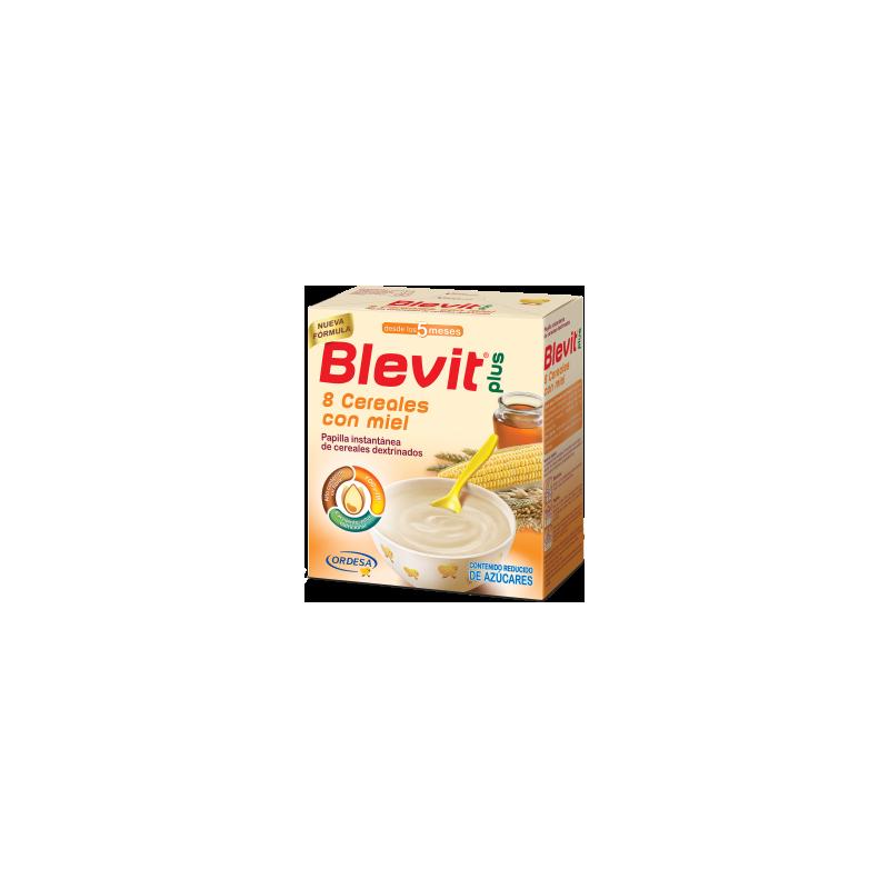 Blevit Plus 8 Cereales Miel 600 mg