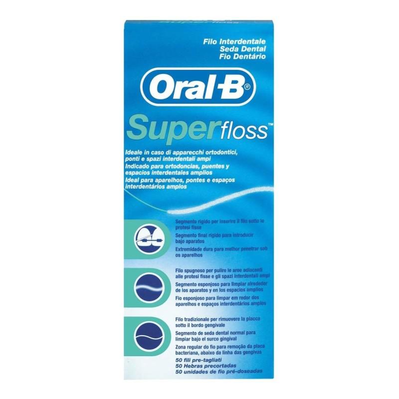 Oral B Super Floss Hilo 50 U