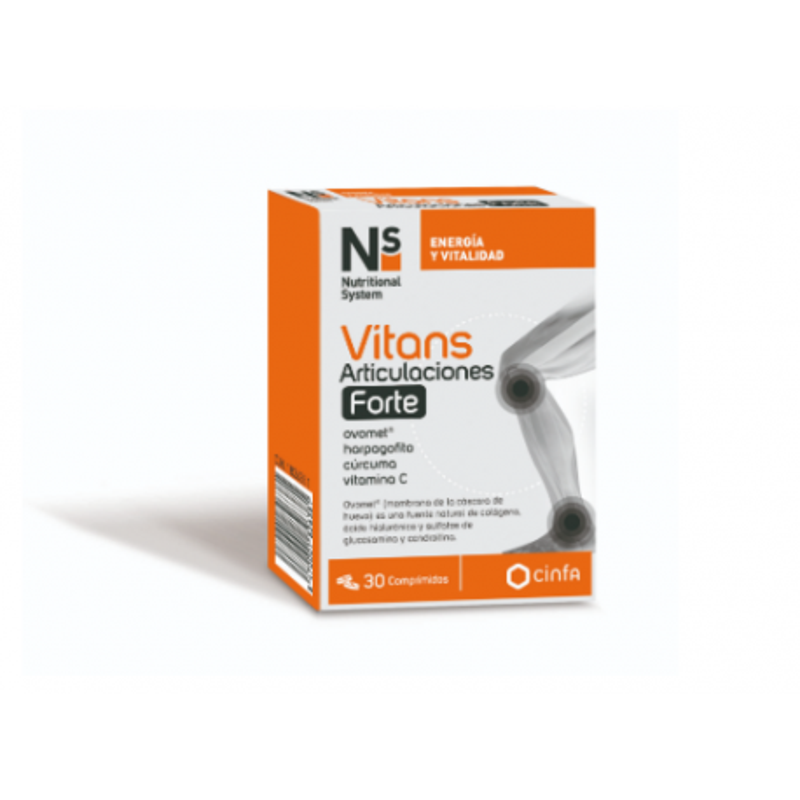 Ns Vitans Articulaciones Forte 30 Comp