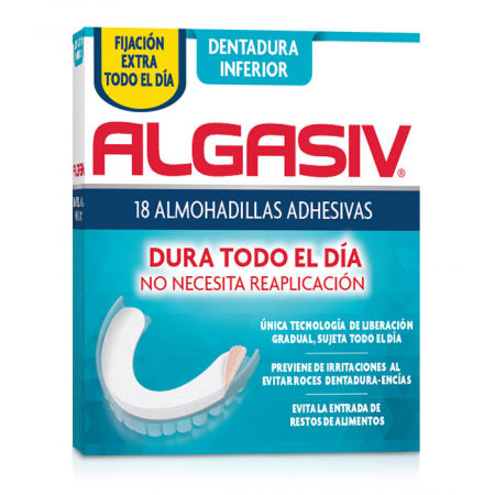 Algasiv Dentadura Inferior 30 Almohadillas