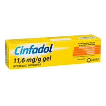 Cinfadol 11.6 Mg/G Gel Topico 100 G