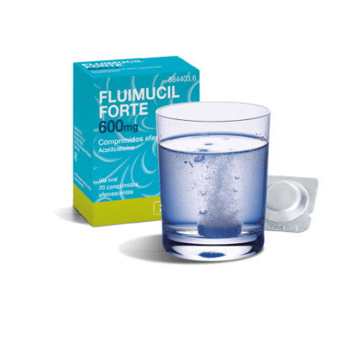 Fluimucil Forte 600 Mg 20 Comprimidos Eferv.
