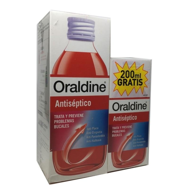 Oraldine Antiseptico Pack 400ml + 200ml