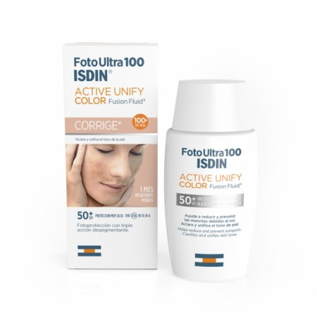 Isdin FotoUltra Active Unify SPF 100+  Color 50