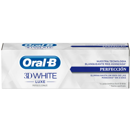 Oral-B Pasta 3D White Luxe Perfección 75 Ml
