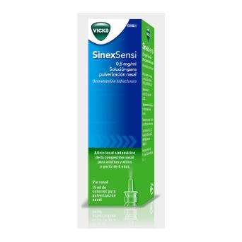 Sinexsensi 0.5 Mg/Ml Nebulizador Nasal 15 Ml