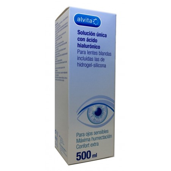 Alvita Solución Única Ácido Hialurónico 500 Ml