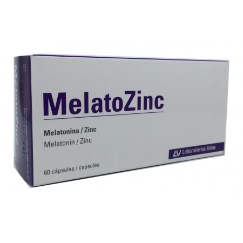 Melatozinc 1 mg 60 caps