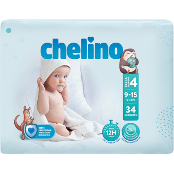 Pañal Chelino Love T 4 34 Uds