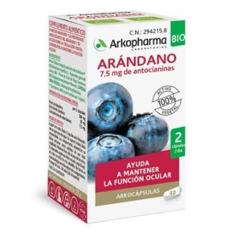 Arkocapsulas Arandano Bio 40 Caps