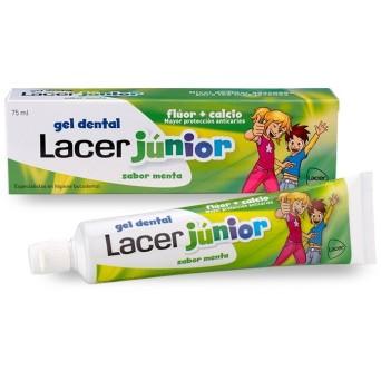 Lacer Junior Menta Gel 75 Ml