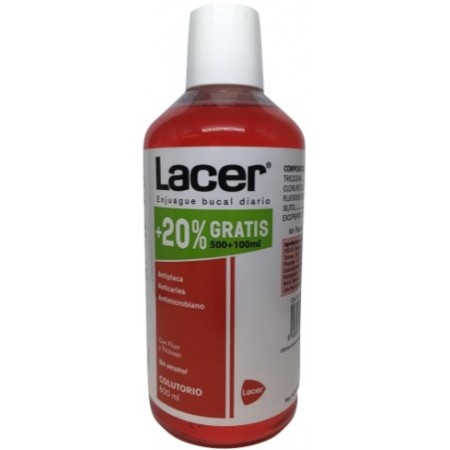 Lacer Colutorio 600 ml Promo 20%