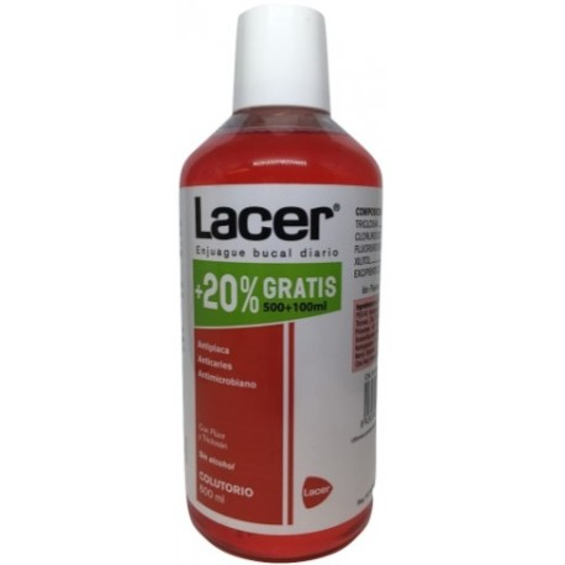 Lacer Colutorio 600 ml Promo 20%