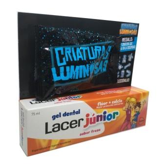 Lacer Fresa Junior 75 Ml Kit Regalo