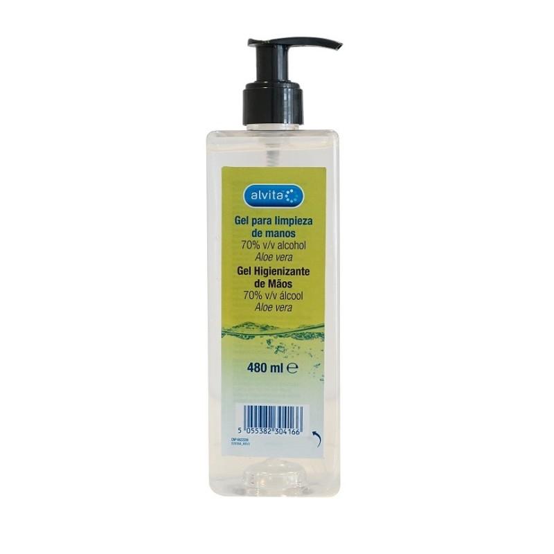 Alvita Gel Desinfectante Manos 480 Ml