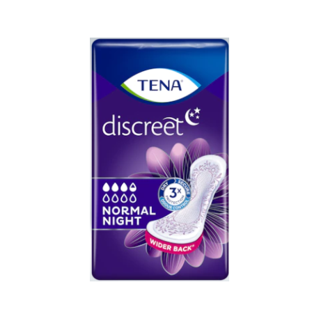 Tena Discreet Normal Night 10 Uds