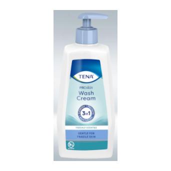 Tena Wash Cream 3 en 1 Crema Limp. 1000 Ml