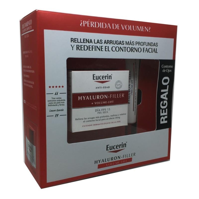 Eucerin Pack Hyal Filler Volume Lift Seca + C. O