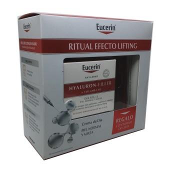 Eucerin Pack Hyal Filler Volume Lift Mixta + C.