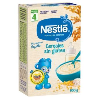Nestle S.Leche Cereales Sin Gluten 600 g