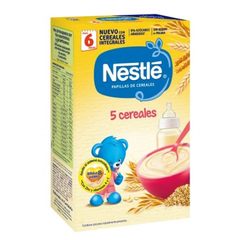 Nestle 5 Cereales 600 g