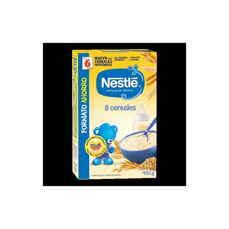 Nestle 8 Cereales Ahorro 900g