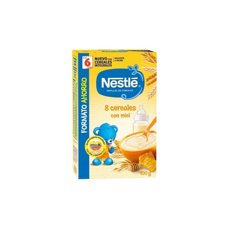 Nestle 8 Cereales Miel Ahorro 900g