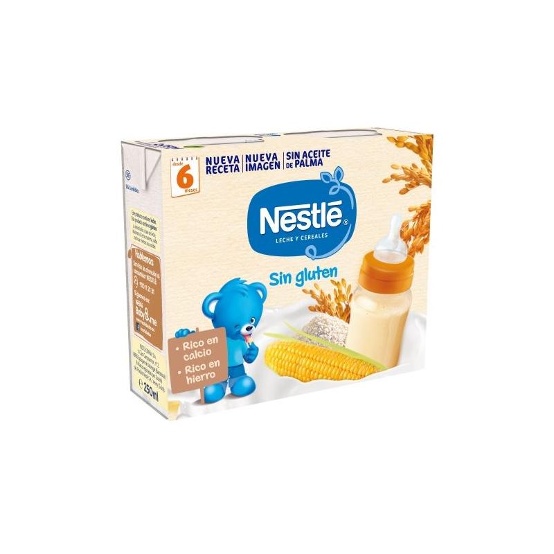 Nestle Cereal Sin Gluten Brick 2x250