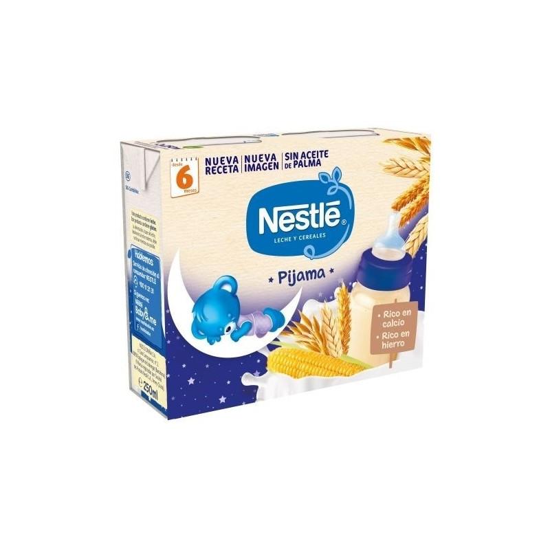 Nestle Leche y Cereales 8 Cereales Pijama 2x250m