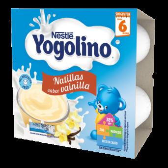 Nestle Iogolino Natillas Galleta 4x100