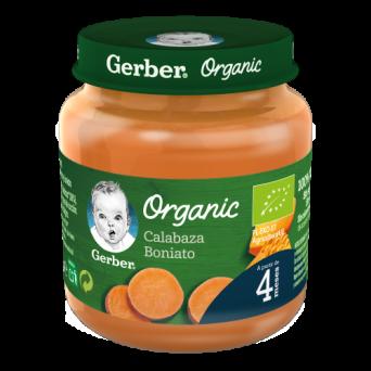Gerber Organic Zanahoria Boniato 125 G