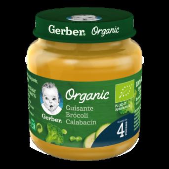 Gerber Organic Guisante Brocoli Calabacin 125 G
